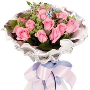 분홍장미꽃다발(기본형)